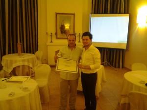 Biagio Fiorino con Stefano Minoia